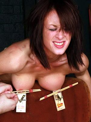 tits pain torture