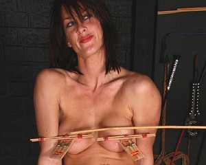 Homemade bdsm tit torture pictures